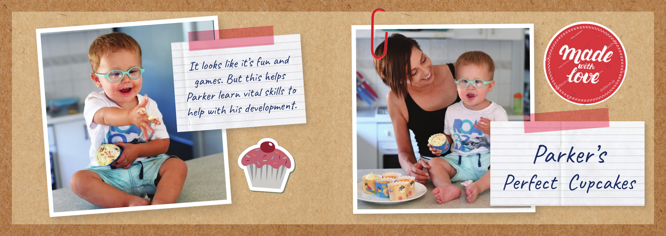 Parker's perfect cupcakes recipe.