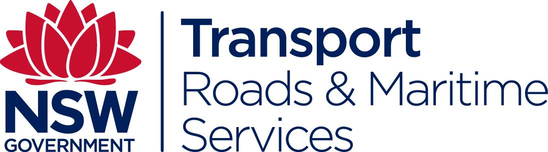 NSW Government - Transport Roads and Maritime Services
